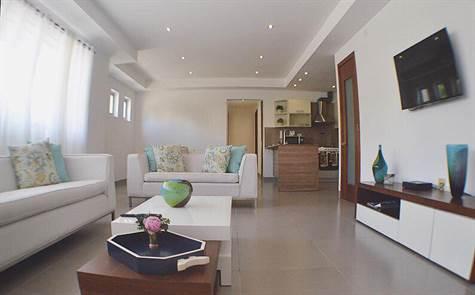 Apartamento de 2 habitaciones en renombrado condominio en Punta Cana