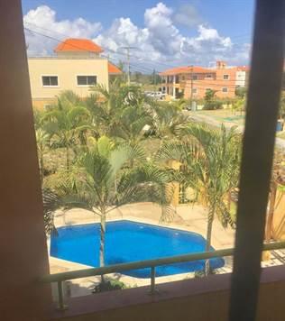Cómodo apartamento de 2 habitaciones en Residencial de Punta Cana