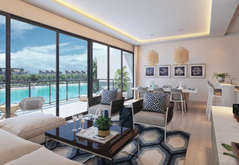 Apartamento con playa privada en el corazon de Punta Cana
