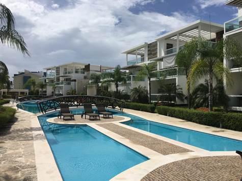 Excelente Apartamento de 2 Habitaciones en Alquiler - Bavaro, Punta Cana