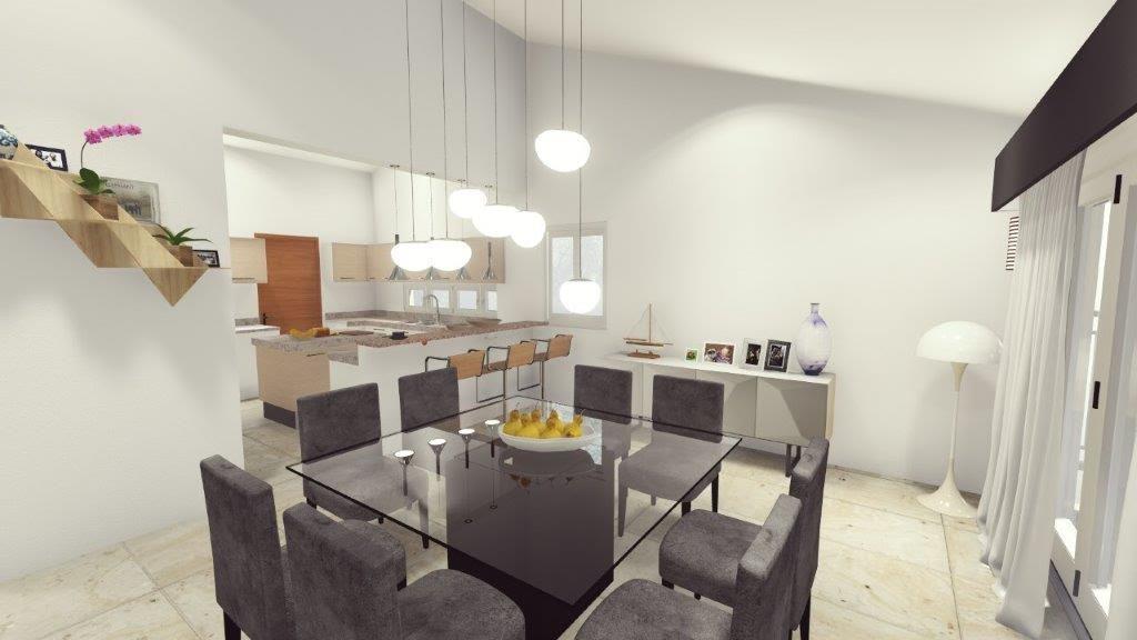 Casa de 3 habitaciones con jardin en Ciudad las Canas