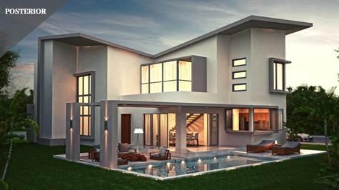 Moderna Villa de 4 habitaciones en Punta Cana Village