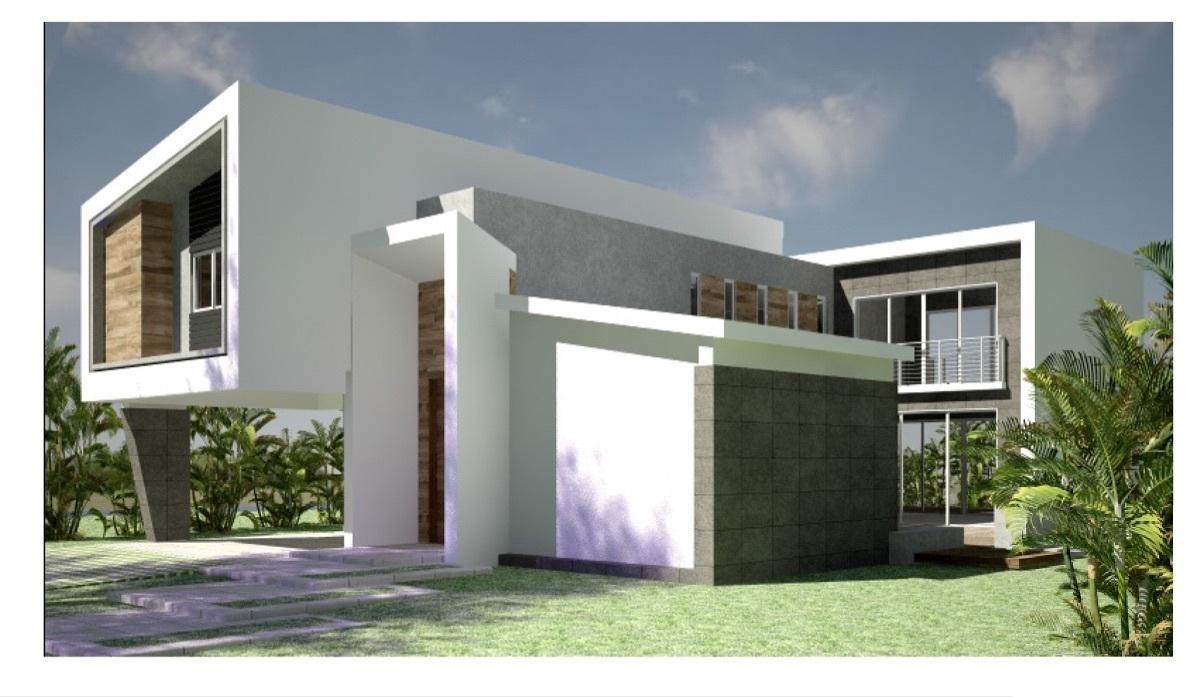 Proyecto Villa a construir Punta Cana Village